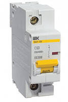 Автоматический выключатель ВА47-100 1Р  80А 10кА х-ка D ИЭК
