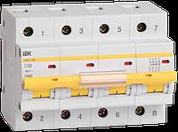Автоматический выключатель ВА 47-100 4Р  16А 10 кА  х-ка C ИЭК