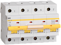 Автоматический выключатель ВА 47-100 4Р  32А 10 кА  х-ка C ИЭК