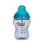 Бутылочка Tommee Tippee Color my world сиреневая с голубым, 260мл