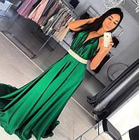 Шикарное вечернее длинное платье 5106