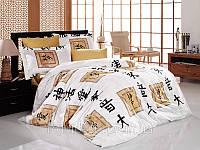 Постельное белье Бамбук 200*220 (ТМ First Choice) Elodia gold
