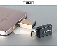 Переходник USAMS USB type-c - USB 3.1 OTG, фото 1