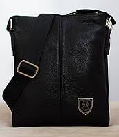 Кожаная мужская сумка Philipp Plein 22*19см