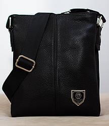 Кожаная мужская сумка Philipp Plein 22*19см  БЕСПЛАТНАЯ ДОСТАВКА!