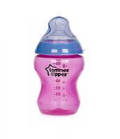 Бутылочка Tommee Tippee Color my world розовая с сиреневым, 260мл