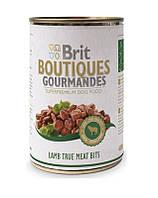 BRIT с кусочками мяса ягненка 0.4 kg
