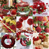 Материалы  для новогоднего декора