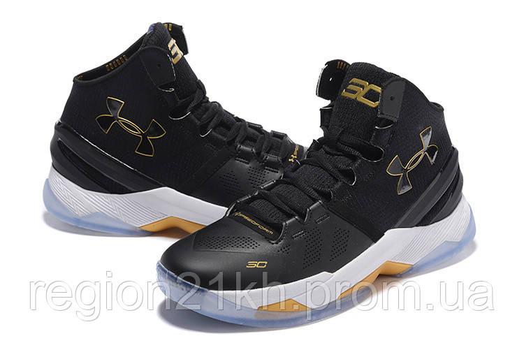 Баскетбольные кроссовки Under Armour Curry 2 Black Out