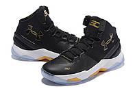Баскетбольные кроссовки Under Armour Curry 2 Black Out, фото 1