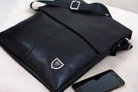 Кожаная мужская сумка Philipp Plein  27*33см