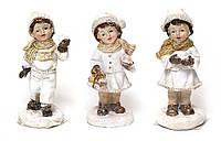 Елочная игрушка BDi 492-C15 Новогодние Детки 9.4см, 3 вида, керамика уп12