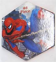 """Набор для рисования 46 предметов """"Spider Man"""" Шестигранник SM-46"""