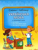 Схеми і таблиці з української мови в початковій школі. (вид-во: Весна)