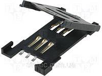 Разъем для SIM-карты 115B-AAA0-R (SIMCN)
