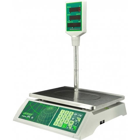 Весы электронные торговые с поверкой 15 кг JPL-15К