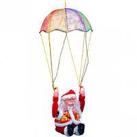 Сувенирная игрушка Дед Мороз с парашютом