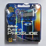 Картриджи Gillette Fusion ProGlide  Оригинал 6 шт. в   упаковке производство Германия