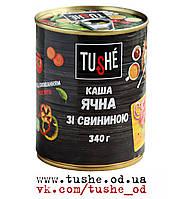 Каша ячневая с мясом тм Tushe (340грамм)
