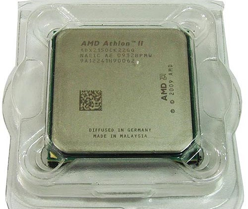 Процессор AMD sam3 ATHLON II 215 - 2 ЯДРА  ( 2 по 2.7 Ghz каждое ) ADX2150CK22GQ am2+  am3 с ГАРАНТИЕЙ