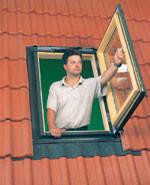 Мансардное окно-выход Fakro FW 78*118