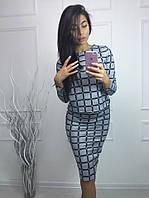 Женский теплый  костюм юбка + кофта ангора