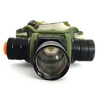 Налобный фонарик Bailong BL-6660, 6000W , аккумуляторный, фонари, светотехника, туристический