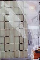 Силиконовая занавеска в ванную 180 см х 180 см