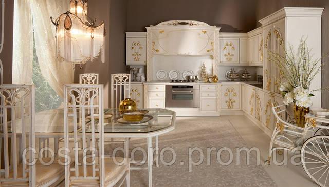 Мебель для кухни в стиле Либерти