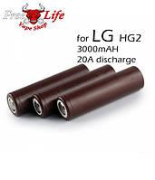 Высокотоковый Аккумулятор LG  18650 HG2 3000 mAh ORiGiNAL