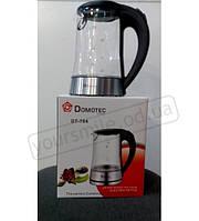 Электрочайник Domotec DT 704 стекло