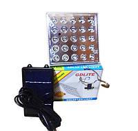 Светодиодная лампа с солнечной панелью GD Lite GD-025, прожектор, солнечная батарея