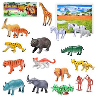 Набор фигурок диких животных Metr+ A 581