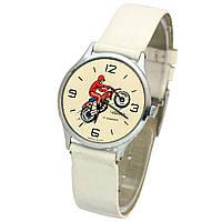 Часы Чайка мотоциклист