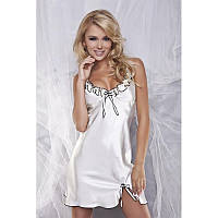 Ночная сорочка с рюшами Gabi DKaren S, молочный