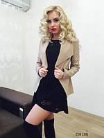Женский кожанный пиджак 228 (24)