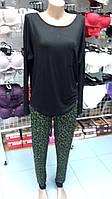 Одежда для дома женская хлопковая кофта и штаны