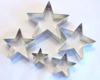 Каттер звезда мини - набор из 5 штук