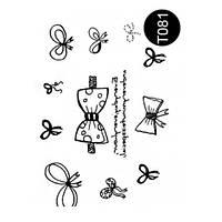Наклейки на тело Tattoo Style T081  Kodi