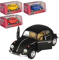 Детская Инерционная Машина Volkswagen Classical Beetle 1967, KT5057W, металлический автомобиль KINSMART