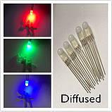 5мм светодиод диффузный RGB 4 выв. общ.а., фото 2
