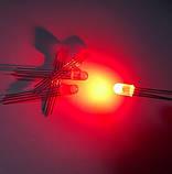 5мм светодиод диффузный RGB 4 выв. общ.а., фото 4