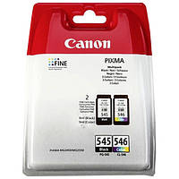 ➤Картридж СANON PG 545 + CL 546 multipack для принтера совместимы с Canon MG 2450 2550 2950