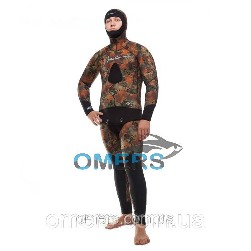 Гидрокостюм для подводной охоты Marlin Skilur Brown 7мм