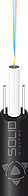 Подвесной оптический кабель OCA-FTTH-04/W самый легкий, размер 2х5 мм, LSZH оболочка, 4 волокна одно