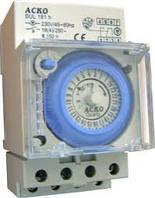 Таймер электронно-механический, суточный SUL181h