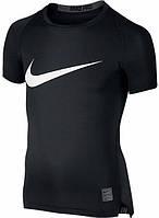 Детская футболка с коротким рукавом Nike Pro Cool HBR Compression JUNIOR 726462-010