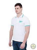 Мужская летняя футболка ( поло , реглан ) Urban planet - WHT ( белый )