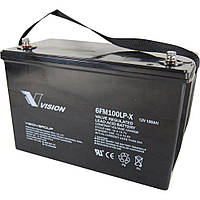 Аккумулятор Свинцово-кислотный Vision 12V, 100Ah