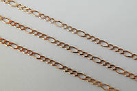 Цепочка серебряная 925 с покрытием золота 585